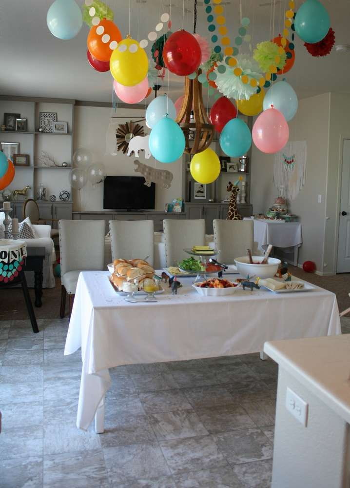 Party Animal Birthday Party Ideas | Photo 2 of 27