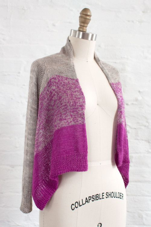 Knitting Pattern For Waterfall Jacket : 100 best images about Sweater Knitting Patterns on Pinterest Plymouth, Vest...
