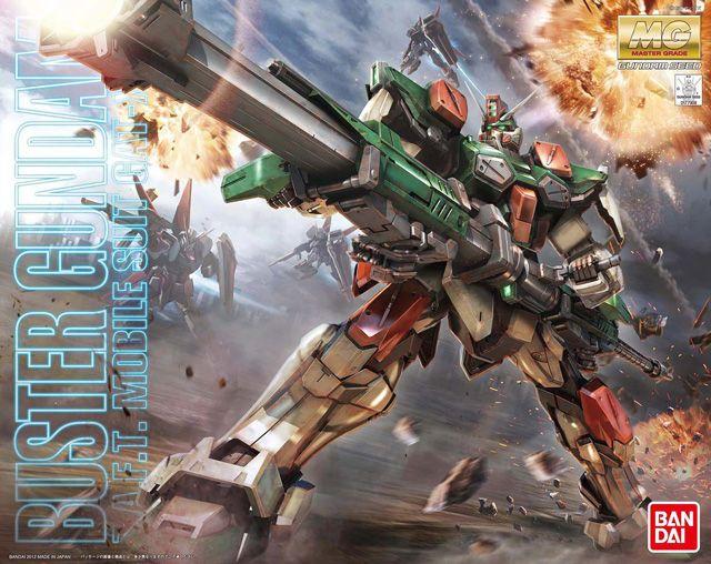 Buster Gundam MG 1/100 - Gundam Toys Shop, Gunpla Model Kits Hobby Online Store, Diorama Supply, Tamiya Paint, Bandai Action Figures Supplier