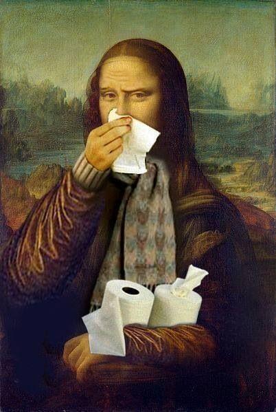 Essa gripe não me deixa....desse jeito.: