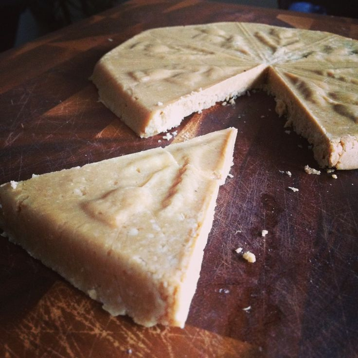 Raw Food Recipe – Shortbread