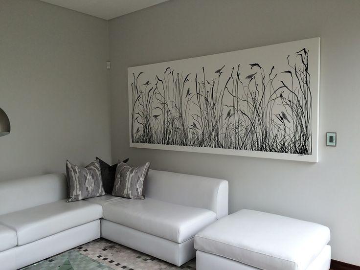 Reeds with Silver Birds Glen Josselsohn Contemporary Art