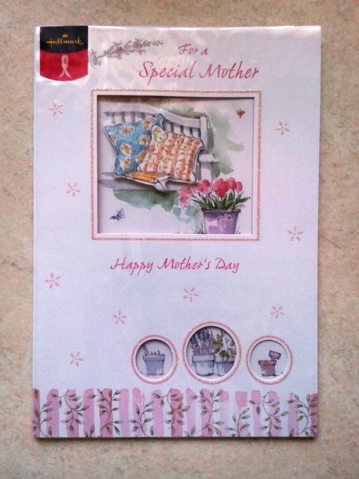 Mother's Day Card For A Special Mother Hallmark Card Breast Cancer Support i