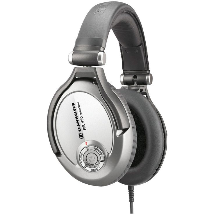 SENNHEISER 500643 Around-the-Ear Premium Collapsible Noise-Canceling Headphones with TalkThrough(TM)