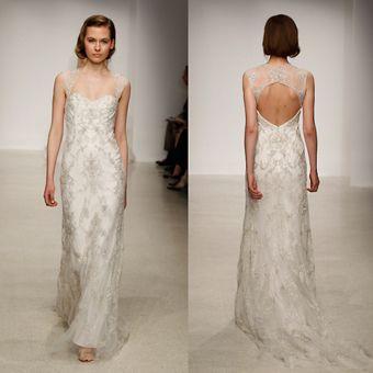 Brides Magazine: Spring 2013 Wedding Dress Trends-Kenneth Pool