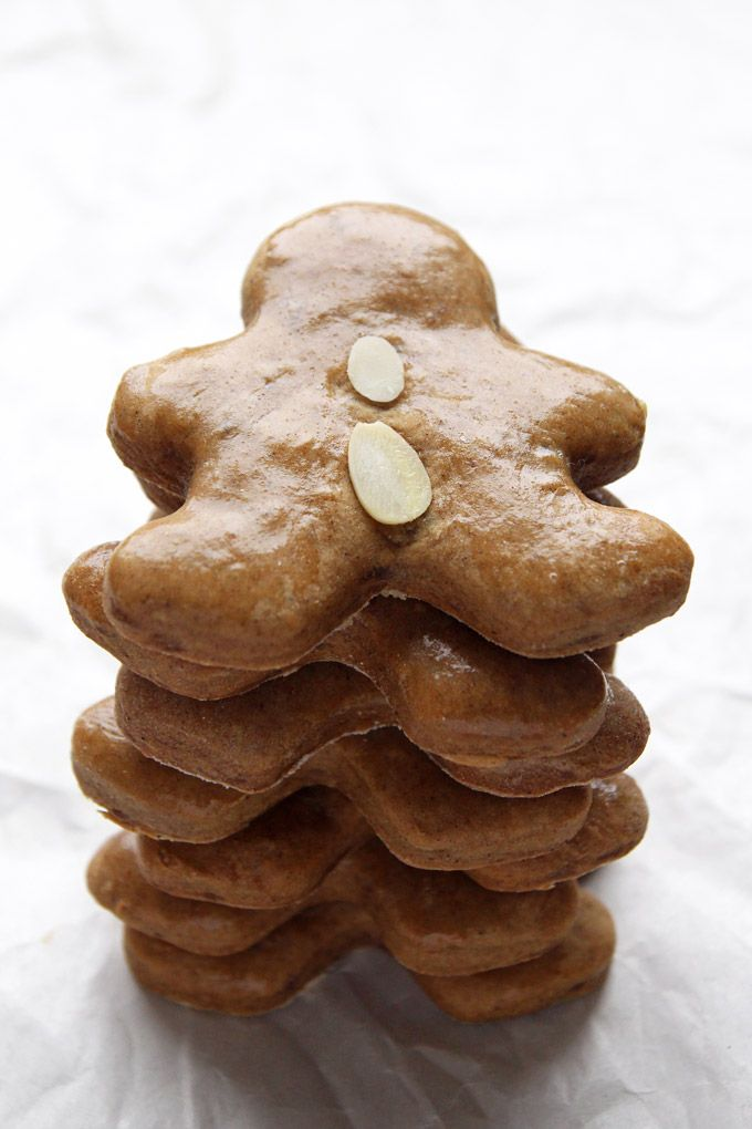 Lebkuchen are a German kind of soft gingerbread cookies. My mom has been making this recipe every Christmas for as long as I can remember.