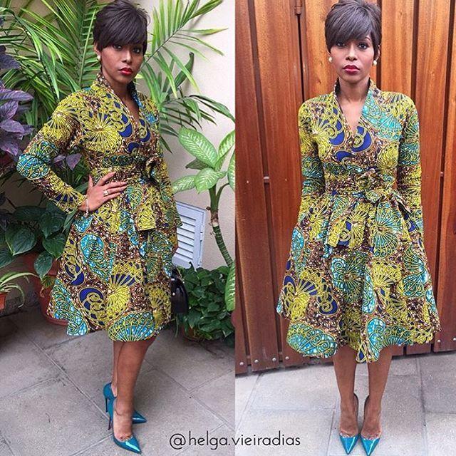Beautiful Ankara Gown Design for Ladies - DeZango Fashion Zone