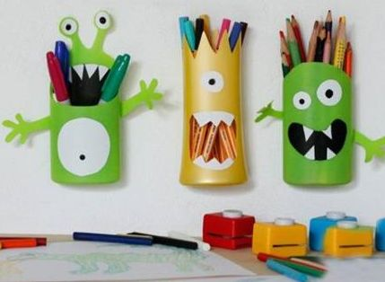 Como hacer un portalapices con botellas: Ideas, Craft, Search, Shampoo Bottles, Diy, Con Google, Shampoos, Pencil Holders