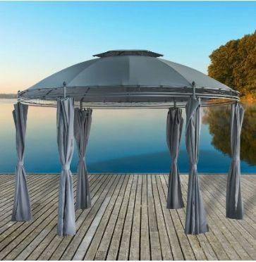 2017 Gartenpavillon Metall Wasserdicht