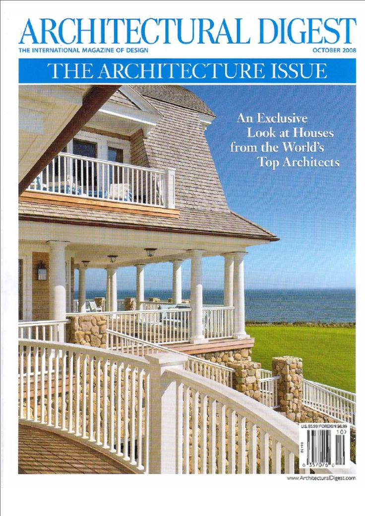22 Best Architectural Digest Covers Images On Pinterest