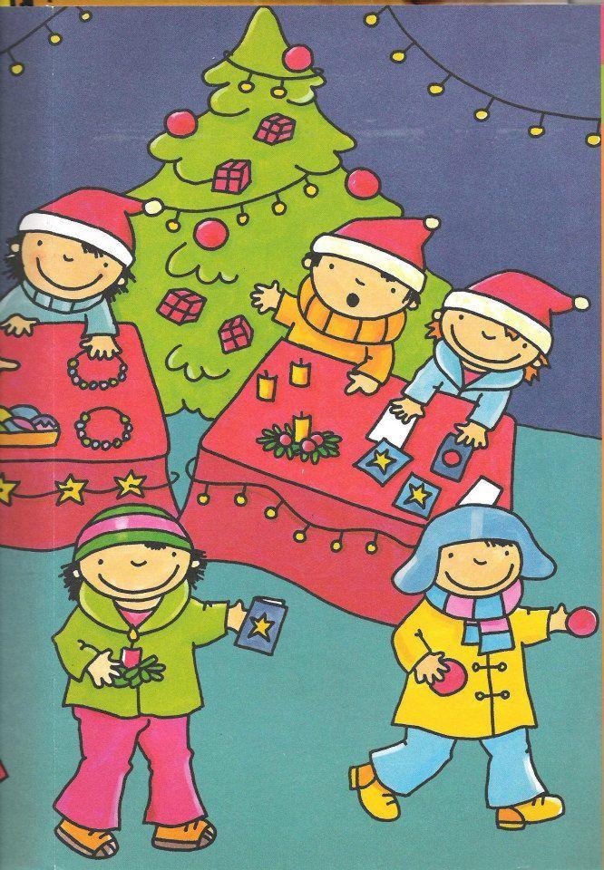 Thema kerstmis : prent