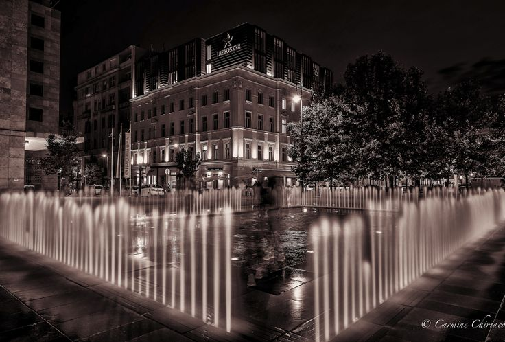 a Ghost in the Fountain ! by Carmine Chiriacò on 500px