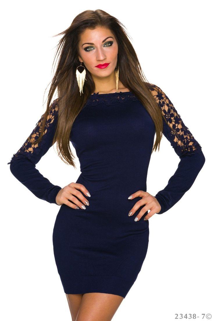 Extraordinary DarkBlue Dress
