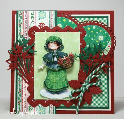 Cards made by Wybrich: Nog een paar kerstkaarten!