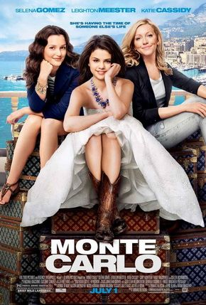Monte Carlo The movie follows three graduates vacationing in Paris as they find themselves whisked away to Monte Carlo where they live like royalty and experience romance after one of the girls is mistaken for a British heiress. But at the end of their journey, they discover the true magic of friendship.
