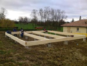 construction de maisons ossature bois construction bois. Black Bedroom Furniture Sets. Home Design Ideas