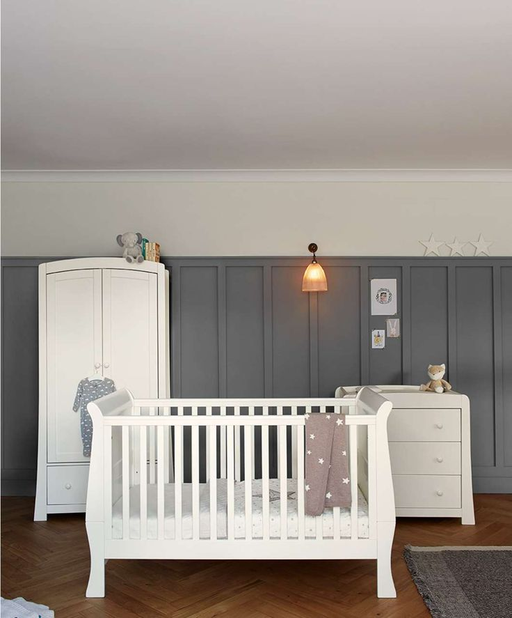 Mia 3 Piece Set - Ivory  Nursery Furniture  Mamas & Papas
