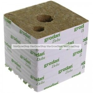 "Rockwool Cube ""Grodan"" 15x15x14,2cm"