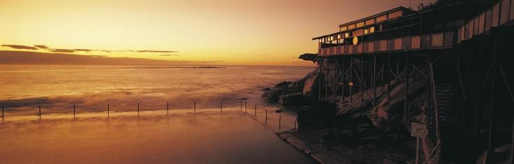 Ocean baths, Coogee by Sally Mayman; Destination NSW #sunset