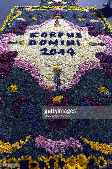 On the occasion of the Feast of Corpus Christi the streets of... #alliste: On the occasion of the Feast of Corpus Christi the… #alliste