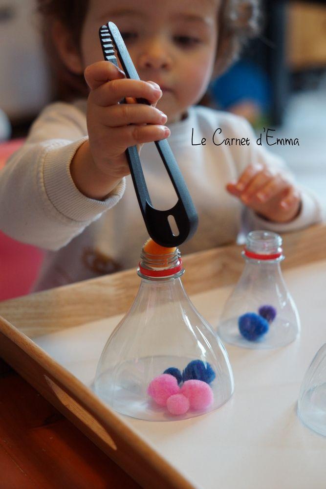 activité, apprentissage, motricité fine, montessori