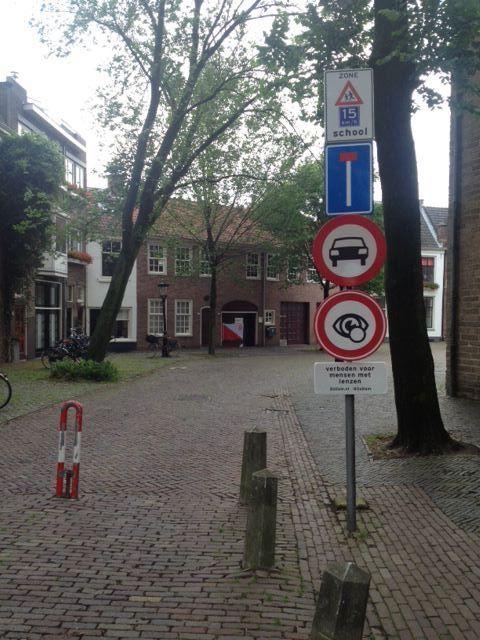 Utrecht, Roze Zaterdag (29 juni 2013), in het kader van een campagne tegen uitsluiting.