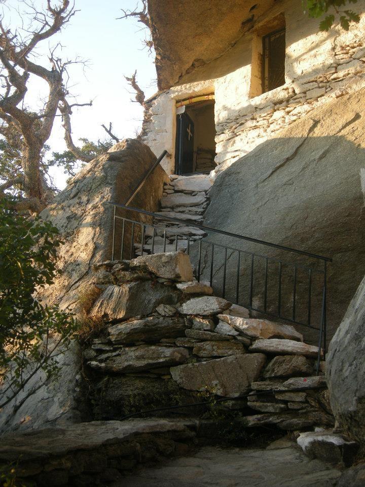 Theoskepasti monastery, Ikaria island, Greece