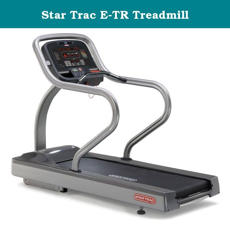 Star Trac E-TR Treadmill. From its integrated iPod connectivity to a device-charging USB port, the E-TR is wired for personal entertainment. The entertainment system is fully-integrated with built-in fans, a heart rate monitor and the ability to pick, play and enjoy the entertainment solution of your choice. And with its sleek, silver design, it also looks as good as it entertains.