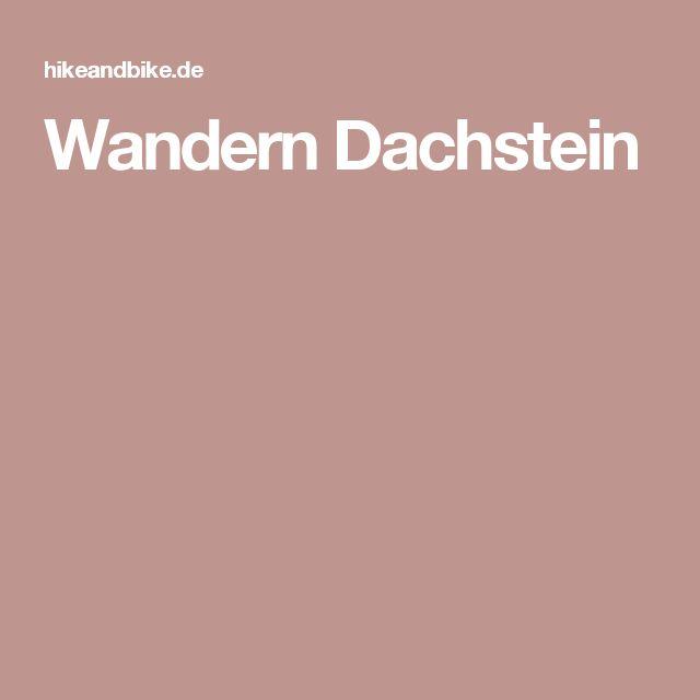 Wandern Dachstein