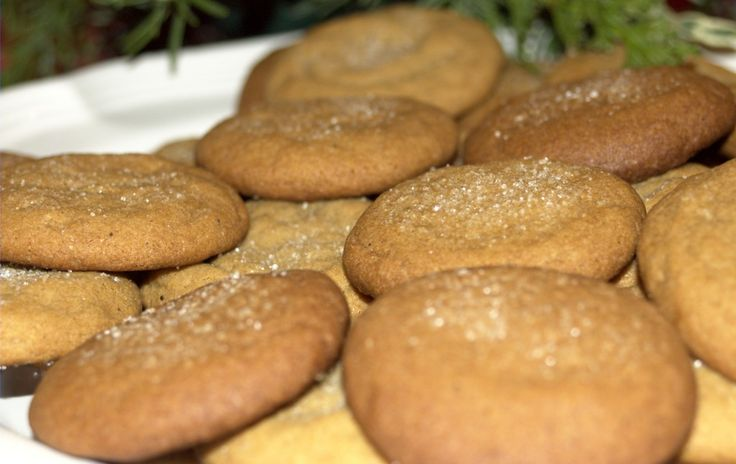 Molasses cookies, Cookies and Recipe on Pinterest