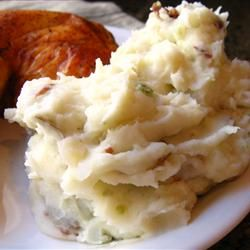 Red Garlic Mashed Potatoes Allrecipes.com