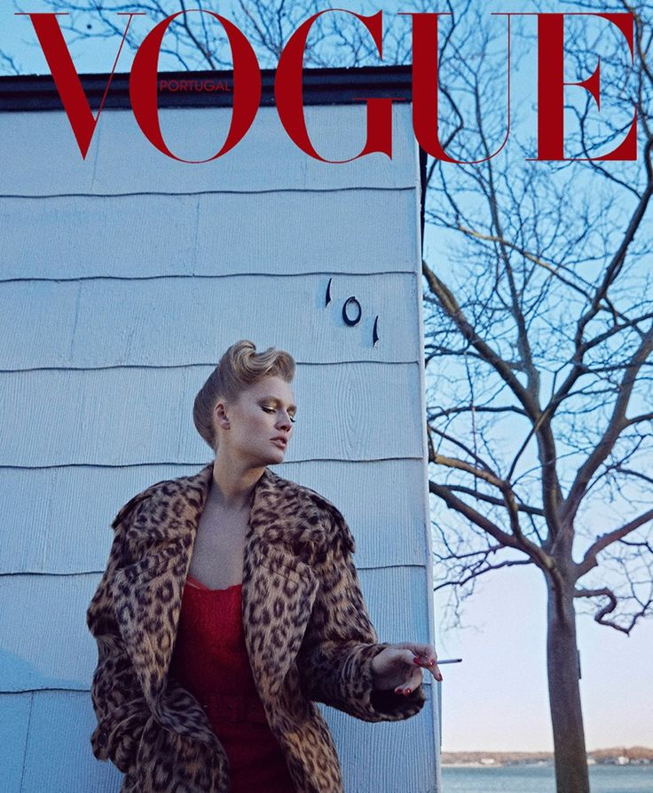 Toni Garrn is a Modern Heroine in Vogue Portugal Cover Story - Fashion Gone Rogue