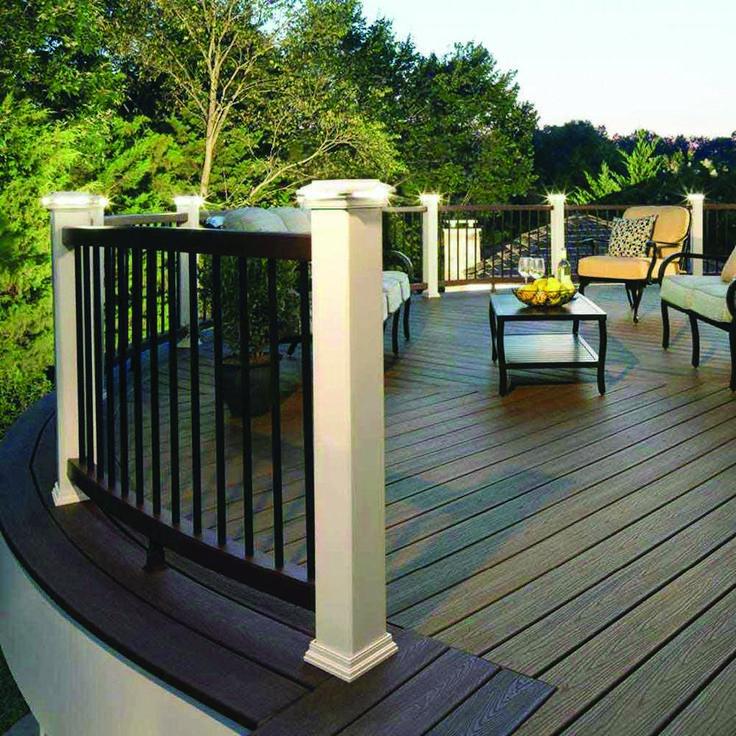 Cute wood deck railings home depot for 2019   Patio deck ...