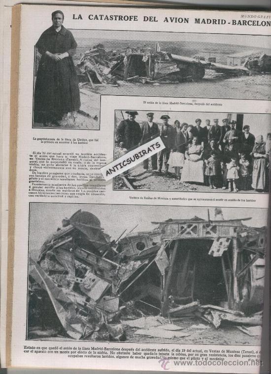 Coleccionismo de Revistas y Periódicos: REVISTA AÑO 1928 CONCURSO DE PELUQUERIA ESTATUA ROMANA EN CORDOBA VENTAS DE MUNIESA TERUEL UTRILLES - Foto 1 - 37879577