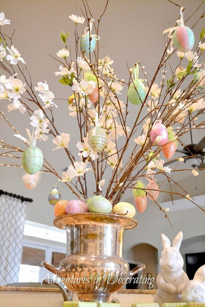 25 best ideas about easter tree on pinterest diy easter for Diy easter decorations home