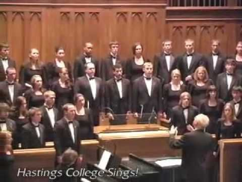 Beneath the Cross of Jesus (The Hastings College Choir)