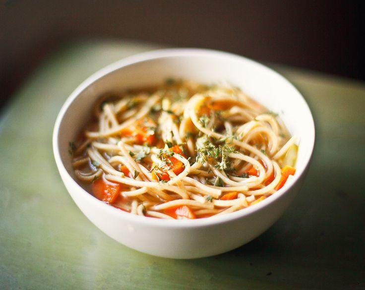 Chickpea Chicken Noodle Soup 15 #Chicken #Noodle Soup #Recipes | Yummy ...