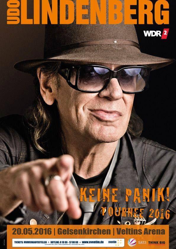 "Udo Lindenberg auf ""Keine Panik"" Tournee 2016   Vorverkauf ab Freitag"