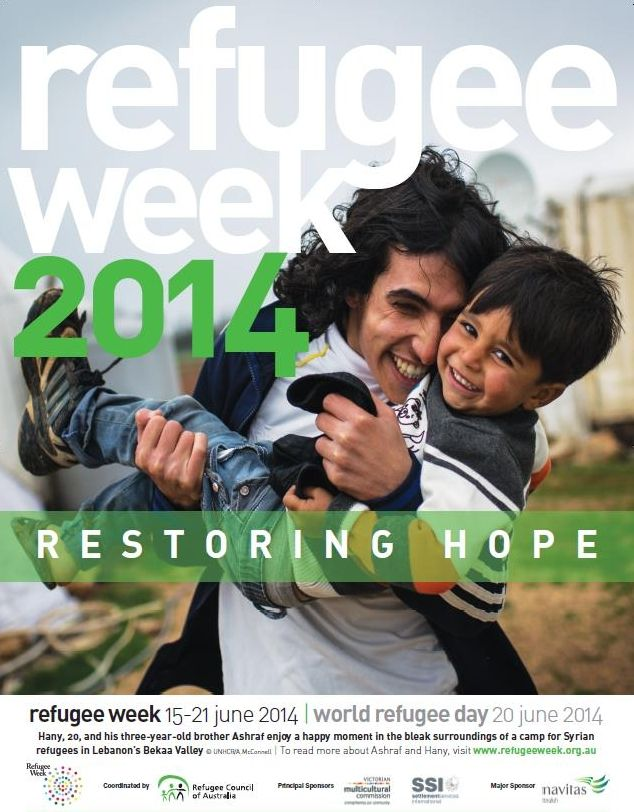 Today marks the start of Refugee Week 2014 and The Department of Immigration and Border Protection is celebrating 25 years of the Woman at Risk Programme. If you'd like to get involved please visit: www.refugeeweek.org.au