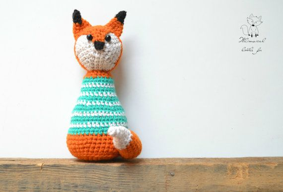 Freddy the fox pattern - Pattern No. 1  The listing is for instant download PDF pattern and not a finished item.  The pattern is written in