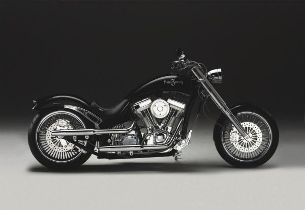 The danish made Lauge Jensen - Harley Davidson