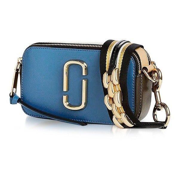 Marc Jacobs Handbags Vintage Blue Multi Chain Link Snapshot Small 24 135 Rub Liked On Polyvore F Marc Jacobs Handbag Blue Shoulder Bags Vintage Handbags