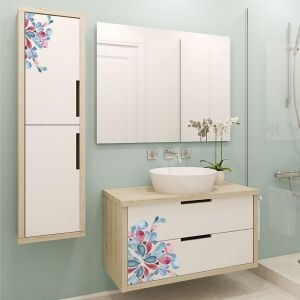Las 25 mejores ideas sobre adhesivo para espejo en for Vinilos para paredes de banos