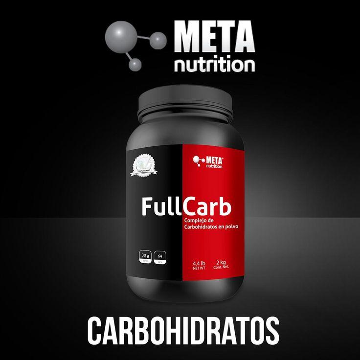 FULLCARB Complejo de Carbohidratos. Meta Nutrition Suplementos Deportivos.