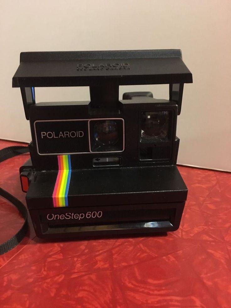 Vtg Polaroid 600 Land Camera One Step 600 (Untested)  | eBay