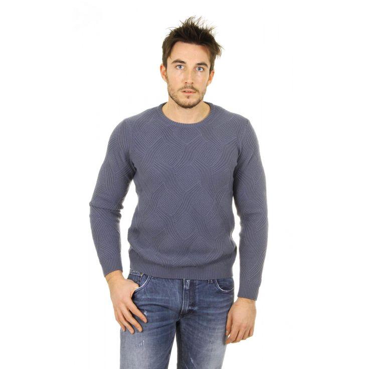 Giorgio Armani mens cashmere sweater round neck SSM43M SS53M 625