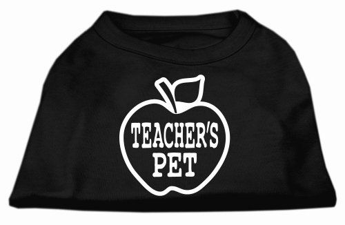 Teachers Pet ScrPrint Dog Shirt Black L (14) * Check out this great article.