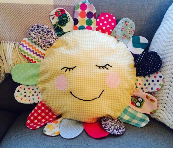 Handmade 'Hello Flower' decorative childrens by BellsandWhistlesCo