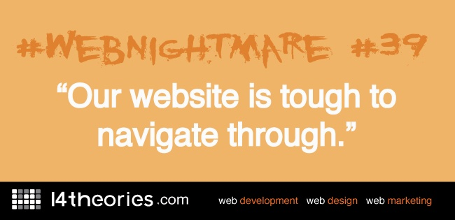 Many businesses suffer from #webnightmare #39
