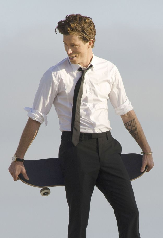 Shaun White a classy hot athlete <3 this I one of the reasons I actually watch the Olympics.